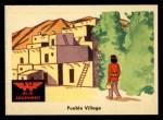 1959 Fleer Indian #56   Pueblo Village Front Thumbnail