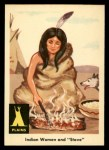 1959 Fleer Indian #5   Indian Woman and Stove Front Thumbnail