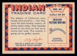 1959 Fleer Indian #66   Indian woman with basket Back Thumbnail