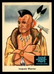 1959 Fleer Indian #34   -  Iroquois Warrior  Indian Iroquois Warrior Front Thumbnail