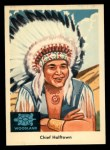 1959 Fleer Indian #40   Chief Halftown Front Thumbnail