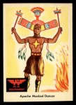 1959 Fleer Indian #51   Apache Masked Dancer Front Thumbnail