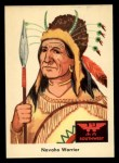 1959 Fleer Indian #55   -  Navaho Warrior  Indian Navaho Warrior Front Thumbnail