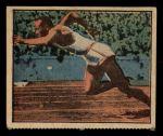 1951 Berk Ross #18 C Jesse Owens  Front Thumbnail