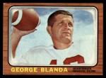 1966 Topps #48  George Blanda  Front Thumbnail