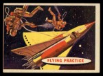 1957 Topps Space Cards #26   Flying Practice  Front Thumbnail