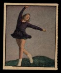 1951 Berk Ross #17 C Yvonne Claire Sherman  Front Thumbnail