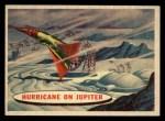1957 Topps Space Cards #82   Hurricane on Jupiter  Front Thumbnail