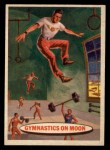 1957 Topps Space Cards #59   Gymnastics on Moon  Front Thumbnail