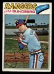 1977 Topps #351  Jim Sundberg  Front Thumbnail