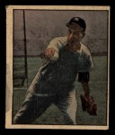 1951 Berk Ross #4 C Vic Raschi  Front Thumbnail