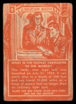 1957 Topps Isolation Booth #9   Fastest Submarine in the World Back Thumbnail