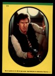 1983 Topps Star Wars Return of the Jedi Stickers #11  Han Solo  Front Thumbnail
