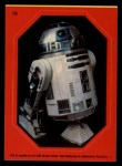 1983 Topps Star Wars Return of the Jedi Stickers #18  R2-D2  Front Thumbnail