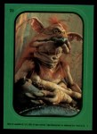 1983 Topps Star Wars Return of the Jedi Stickers #23  Salacious-Crumb  Front Thumbnail