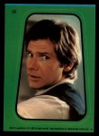 1983 Topps Star Wars Return of the Jedi Stickers #32  Han Solo  Front Thumbnail