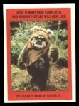 1983 Topps Star Wars Return of the Jedi Stickers #33  Biker Scout  Back Thumbnail