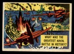 1957 Topps Isolation Booth #7   Greatest Naval Battle in History Front Thumbnail