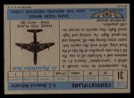1957 Topps Planes #31 BLU  Convertiplane Back Thumbnail