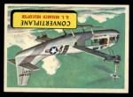 1957 Topps Planes #31 BLU  Convertiplane Front Thumbnail