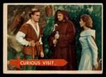 1957 Topps Robin Hood #54   Curious Visit Front Thumbnail