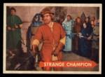 1957 Topps Robin Hood #41   Strange Champion Front Thumbnail