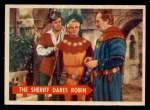 1957 Topps Robin Hood #49   The Sheriff Dares Robin Front Thumbnail