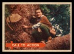 1957 Topps Robin Hood #28   Call To Action Front Thumbnail
