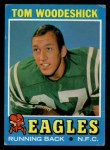1971 Topps #40  Tom Woodeshick  Front Thumbnail