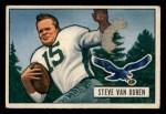 1951 Bowman #10  Steve Van Buren  Front Thumbnail