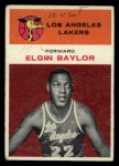 1961 Fleer #3  Elgin Baylor  Front Thumbnail