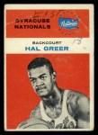 1961 Fleer #16  Hal Greer  Front Thumbnail