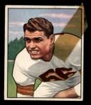 1950 Bowman #78  Dante Lavelli  Front Thumbnail