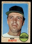 1968 Topps #21  Ron Davis  Front Thumbnail