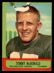 1963 Topps #112  Tommy McDonald      Front Thumbnail