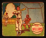 1943 M.P. and Co #18  Ted Williams  Front Thumbnail