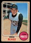 1968 Topps #499  Steve Blass  Front Thumbnail