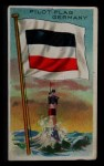 1911 Flags of All Nations T59 #156 JAC  Germany Pilot Flag Front Thumbnail