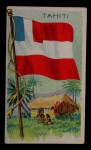 1911 Flags of All Nations T59 #133 BR  Tahiti Front Thumbnail