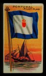 1911 Flags of All Nations T59 #160 JAC  Portugal Pilot Flag Front Thumbnail