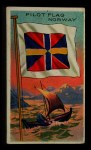 1911 Flags of All Nations T59 #159 BR  Norway Pilot Flag Front Thumbnail