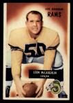 1955 Bowman #88  Leon McLaughlin  Front Thumbnail