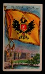 1911 Flags of All Nations T59 #112 BR  Russia Royal Standard Front Thumbnail
