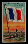 1911 Flags of All Nations T59 #155 SR  France Pilot Flag Front Thumbnail