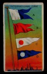 1911 Flags of All Nations T59 #194 BR  International Code A B C D Front Thumbnail