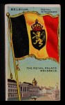 1911 Flags of All Nations T59 #12 BR  Belgium Royal Standard Front Thumbnail