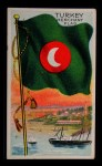 1911 Flags of All Nations T59 #140 BR  Turkey Merchant Flag Front Thumbnail