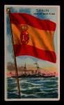 1911 Flags of All Nations T59 #126 BR  Spain Man of War Flag Front Thumbnail