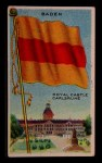 1911 Flags of All Nations T59 #9 BR  Baden Front Thumbnail