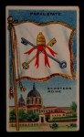 1911 Flags of All Nations T59 #100 REC  Papal State Front Thumbnail